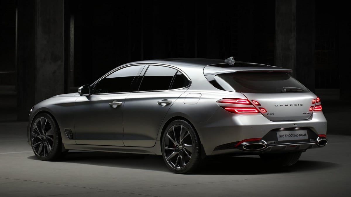 Here's All 185 Inches Of The Stunning Genesis G70 Shooting Brake