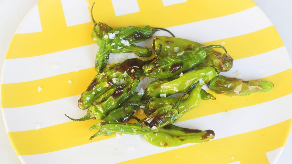 You Should Air Fry Some Shishito Peppers