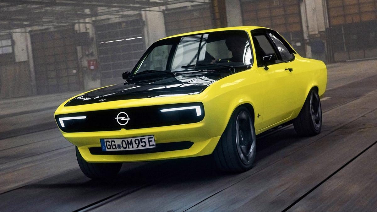 Opel Manta EV One-Off Is A Restomod Done Right