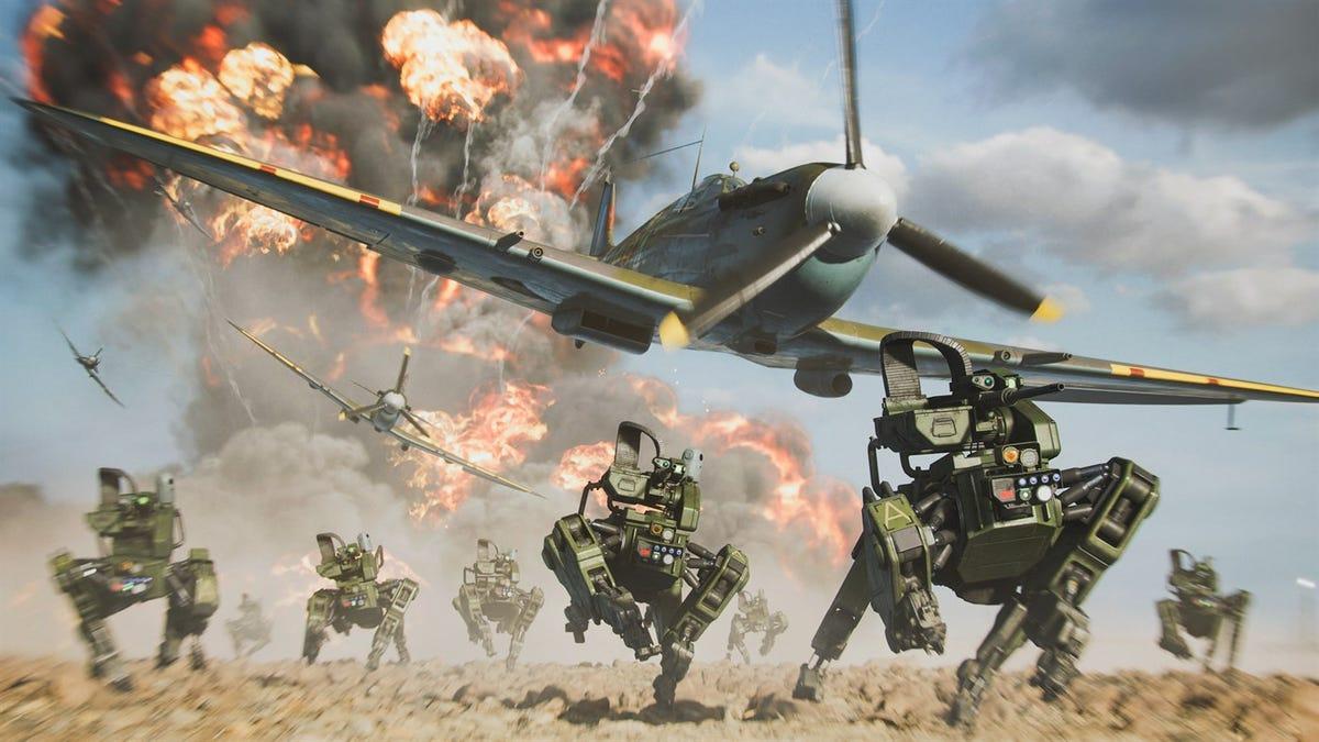 Battlefield 2042 Beta Feels Wild, Yet Somehow Plays It Safe thumbnail