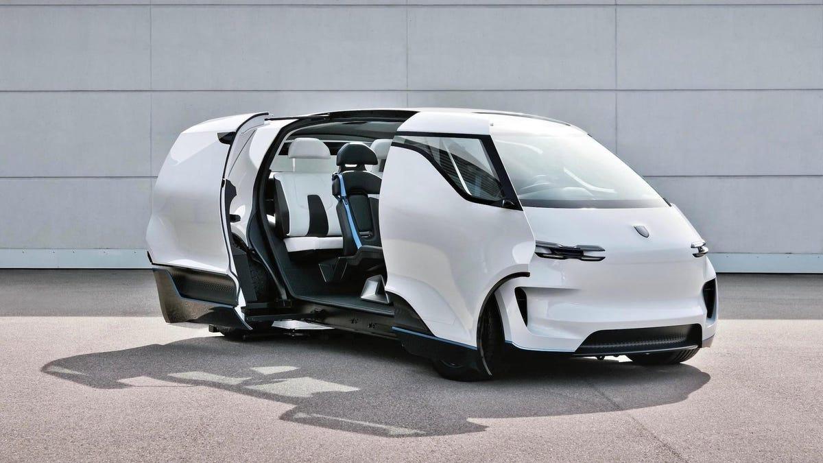 Porsche's Minivan Has The Best Interior The Company Will Never Make
