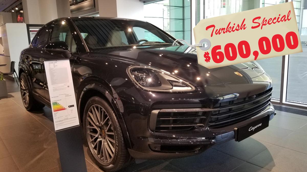 Warum dieser 150.000 Dollar teure Porsche in der Türkei 600.000 Dollar kostet