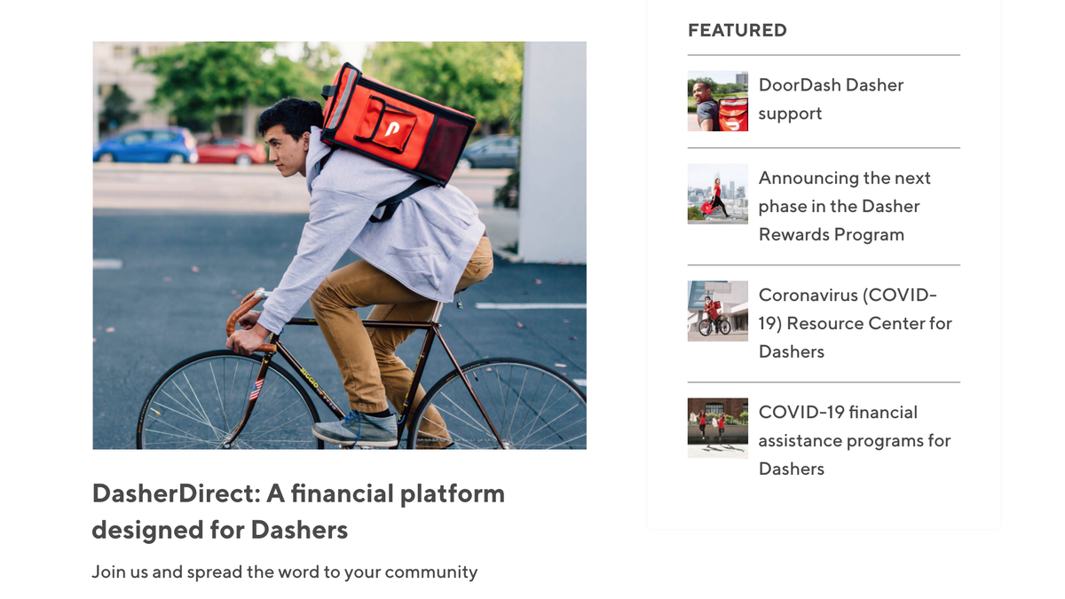 photo of DoorDash Quietly Astroturfing in New York as Gig Economy Laws Loom image