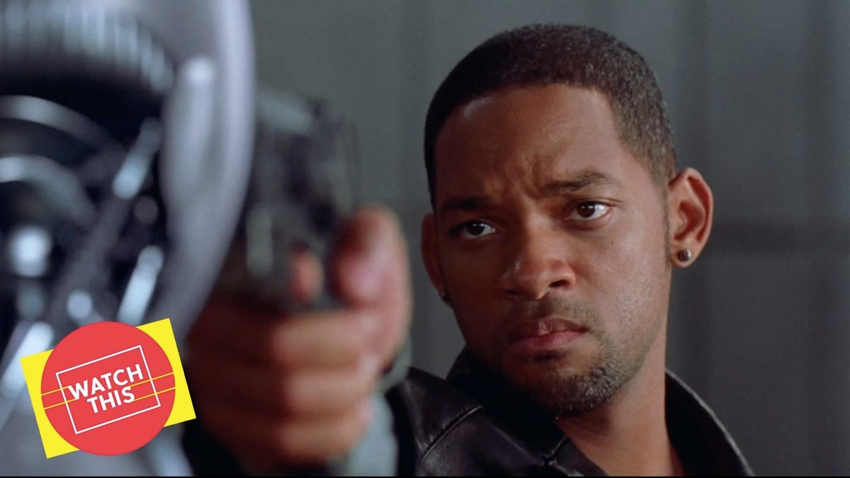 """Critics were wrong about the Will Smith """"adaptation"""" of I, Robot"""
