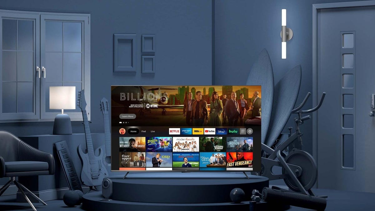 Amazon Is Debuting Its Own Line of Branded TVs in the US