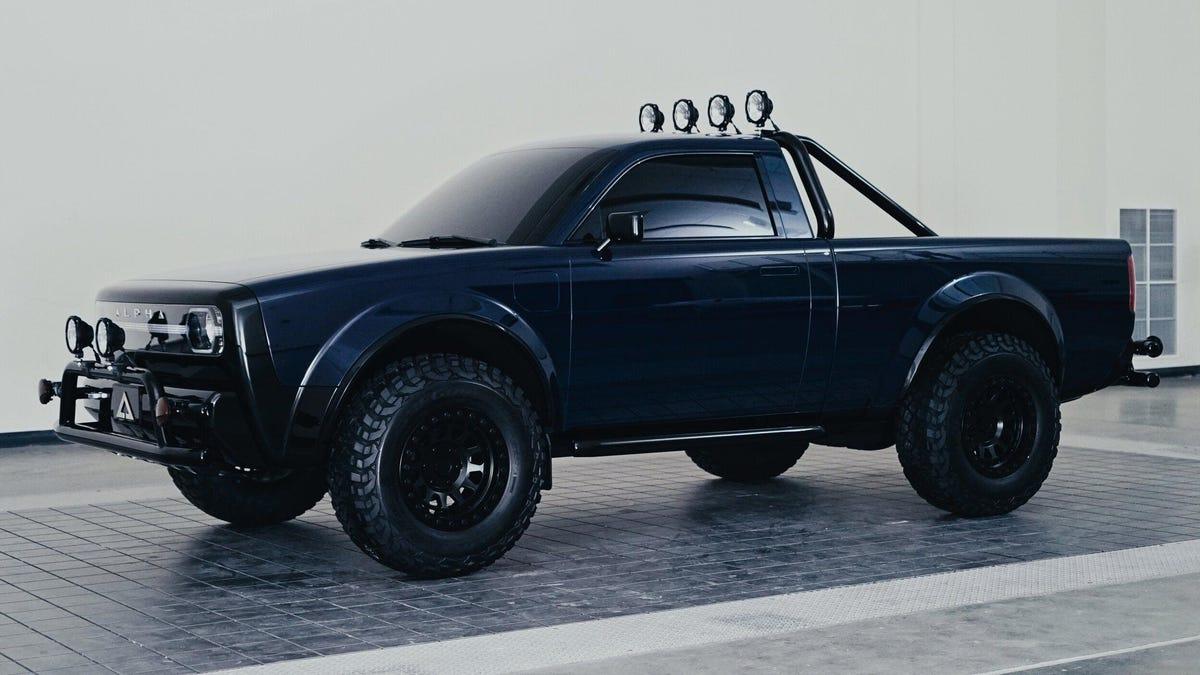 Der Alpha Wolf ist ein cooler Elektro-Truck, den es hoffentlich eines Tages geben wird