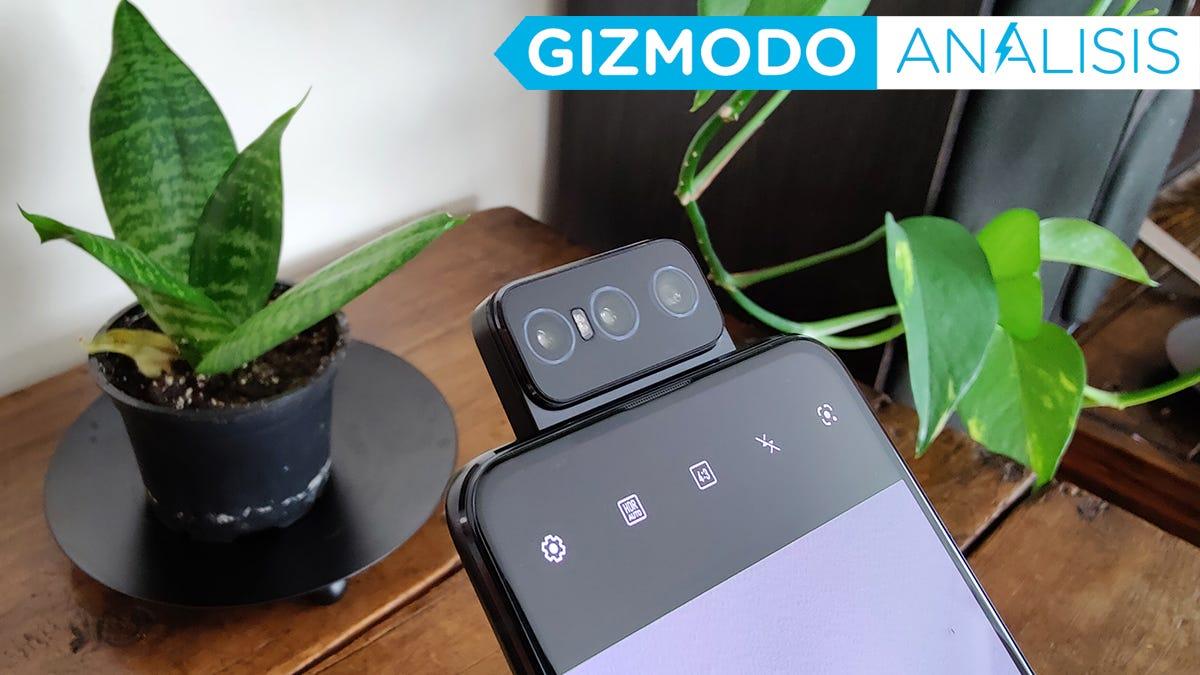 Probamos las cámaras basculantes del Asus Zenfone 8 Flip