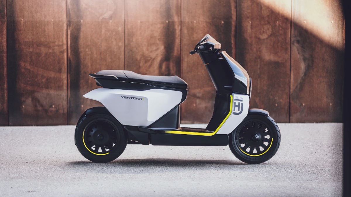 The Husqvarna Vektorr Is The Cute Concept Scooter The World Needs Right Now