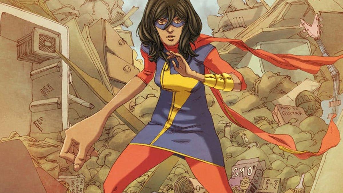 Ms. Marvel Comic Miniseries to Hit Shelves This September thumbnail