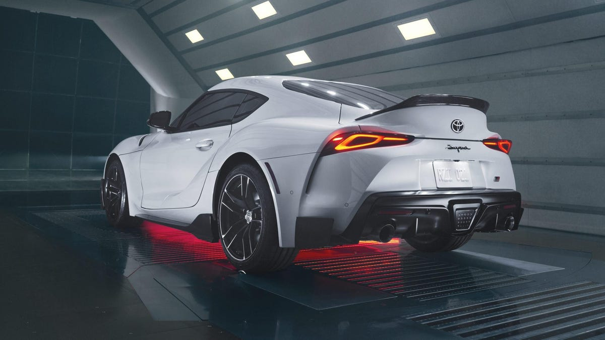 Toyota Gives North America An Exclusive Carbon Fiber Covered Supra