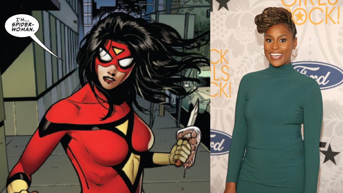 Issa Rae Will Wear the Mask in Spider-Man: Into the Spider-Verse Sequel, Has Been Cast as Spider-Woman