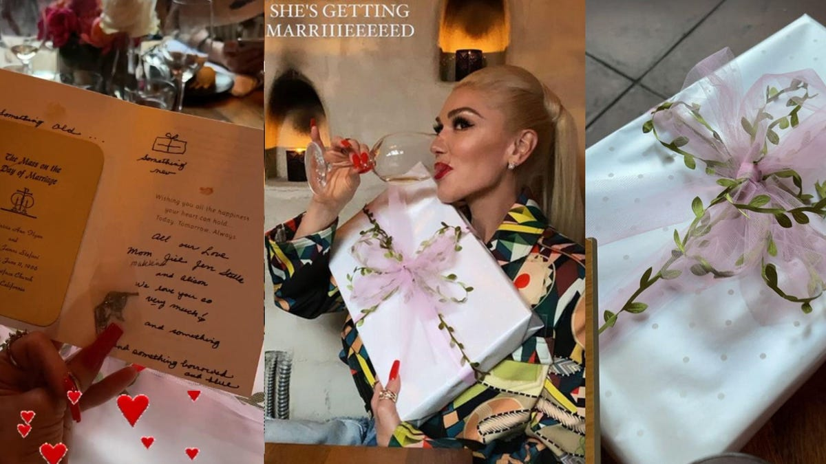 This Is What Gwen Stefani's Fabled Bridal Shower Looked Like