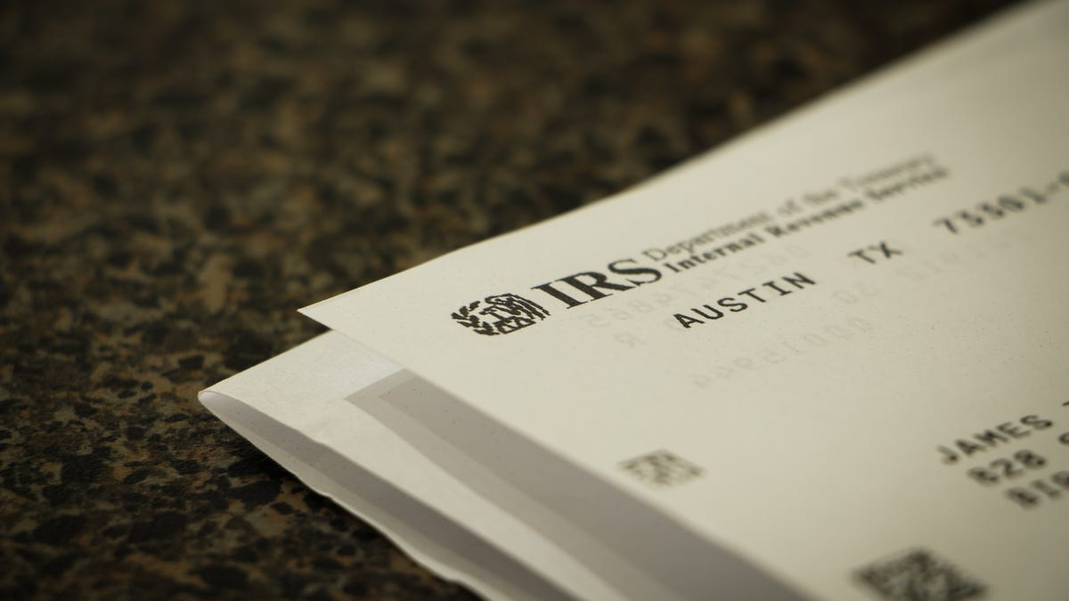 Don't Panic If You Get This Letter From the IRS