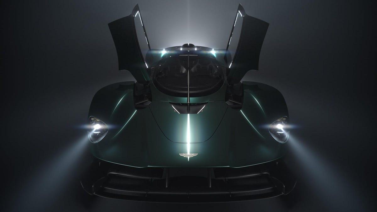 Der Aston Martin Valkyrie Roadster wird in Pebble Beach seine Milliardäre treffen