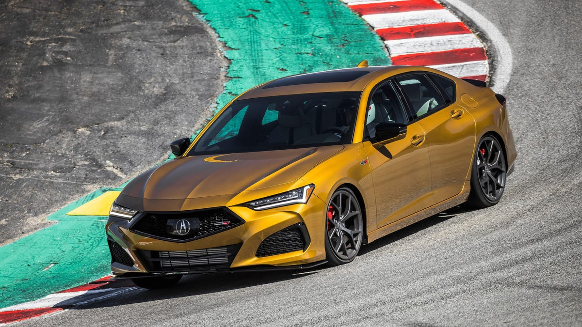 2021 Acura TLX Type-S Brings Acura Back To Its Roots