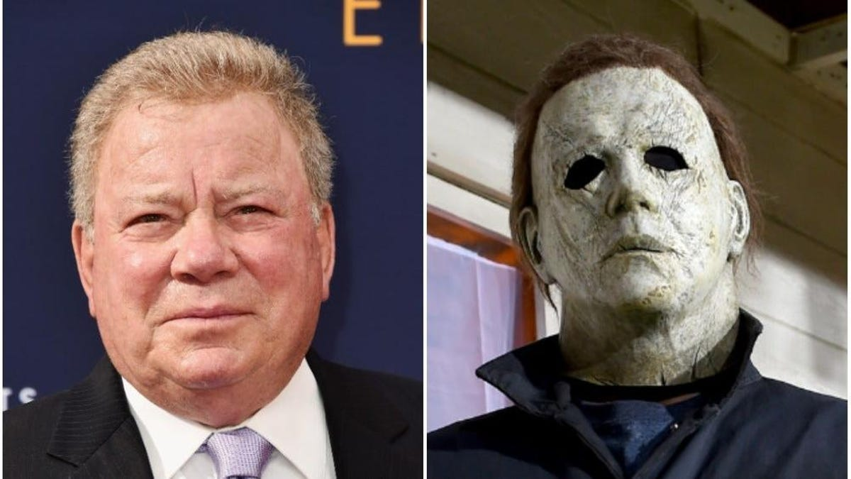William Shatner thought Michael Myers' Captain Kirk mask was a joke ...