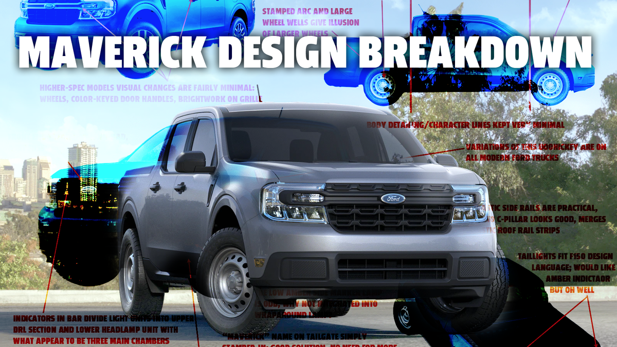Let's Dig Into The Design Of The 2022 Ford Maverick