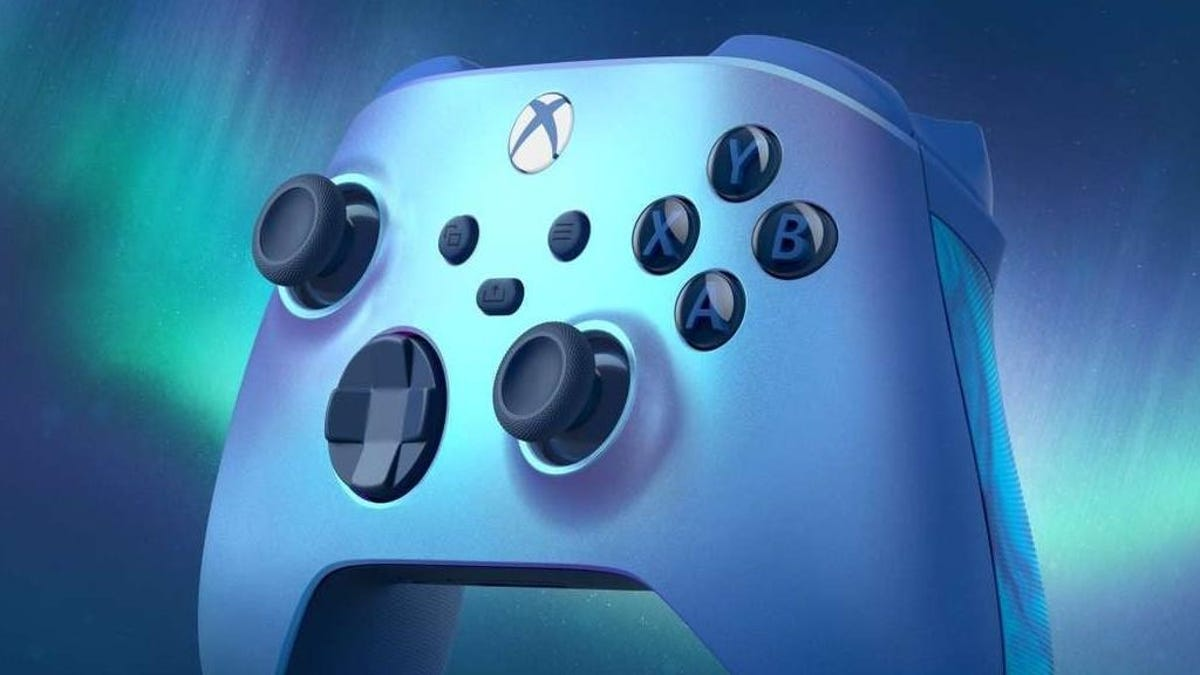 Shiny New Xbox Controller Adds A Subtle Upgrade