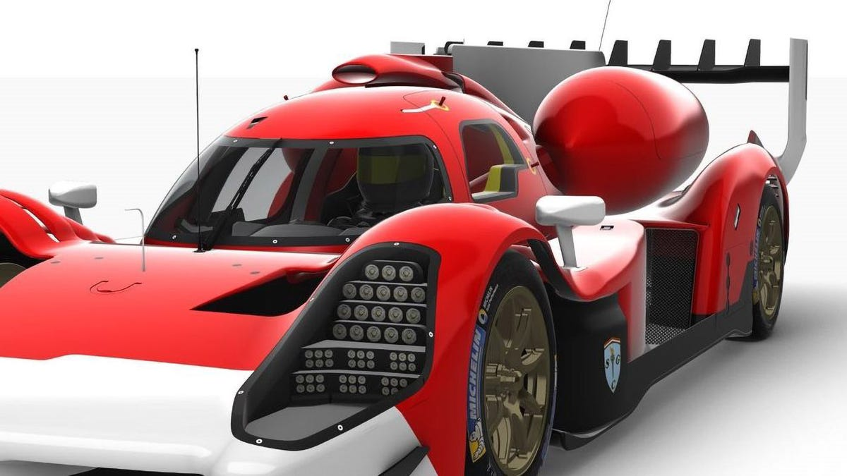 This Liquid Hydrogen Le Mans Racer Proposal Is The Weirdest Thing I've Seen All Week