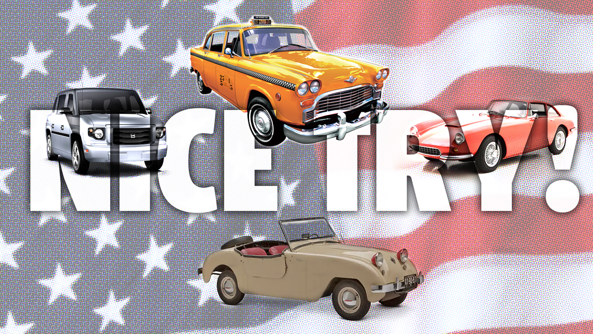 These Are America's Top 10 Also-Ran Carmakers