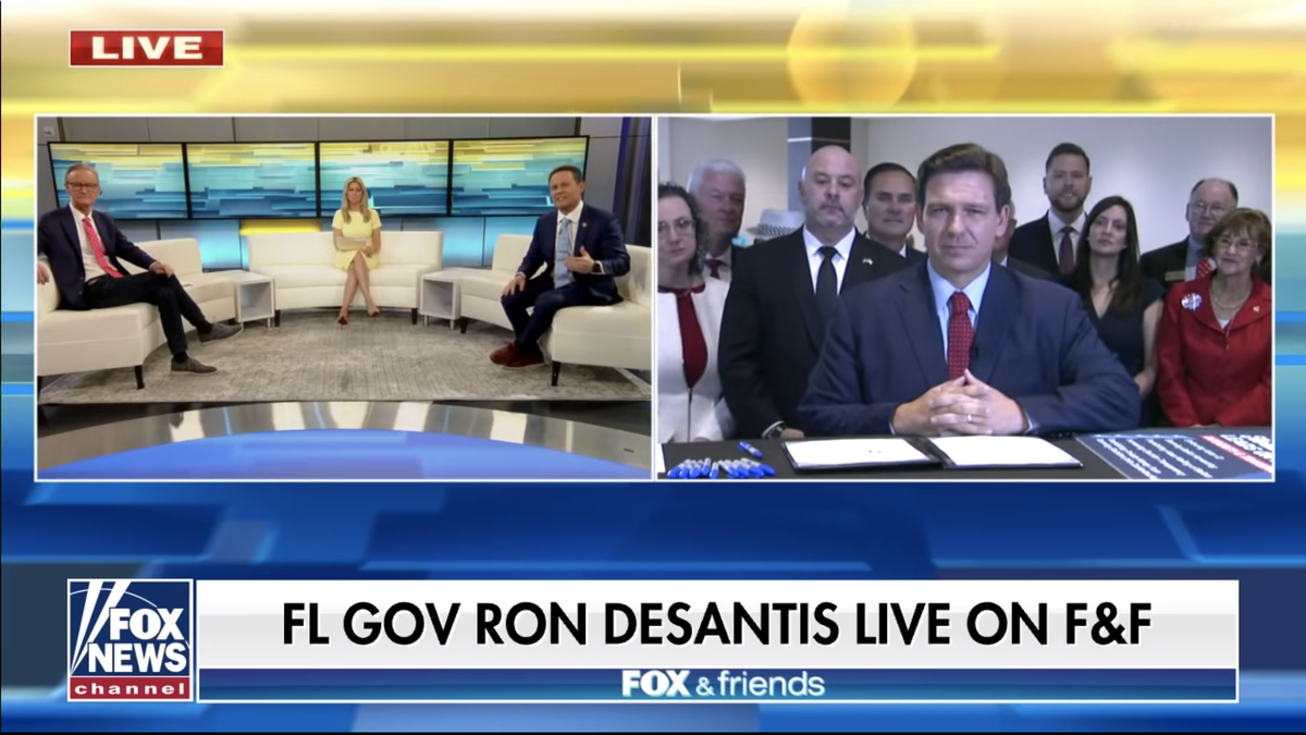 Fox News Claims Even They Didn't Know Gov. Ron DeSantis Was Gonna Do All That