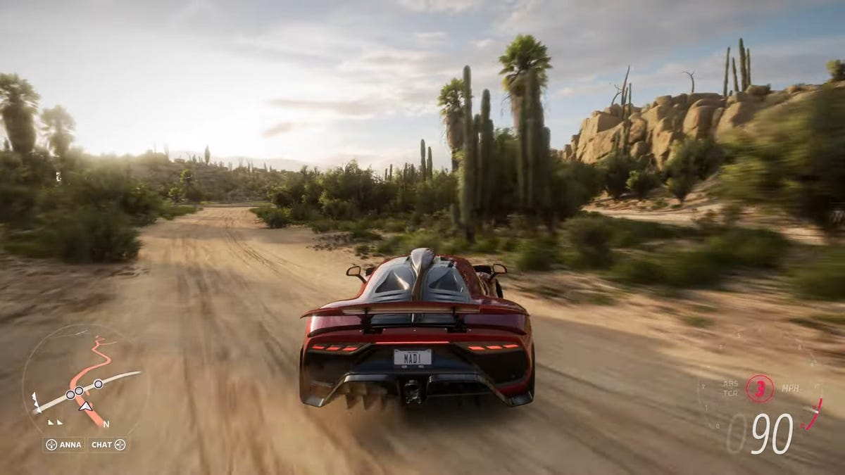 Forza Horizon 5 Is Very Proud Of Its Mexican Cactus Needles