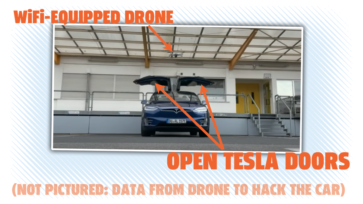 Security Researchers Hack A Tesla From A Drone