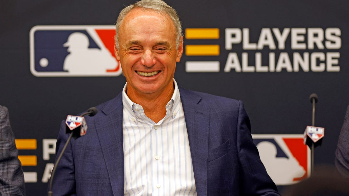 Rob Manfred must be looking to Barstool to keep Major League Baseball racist and white