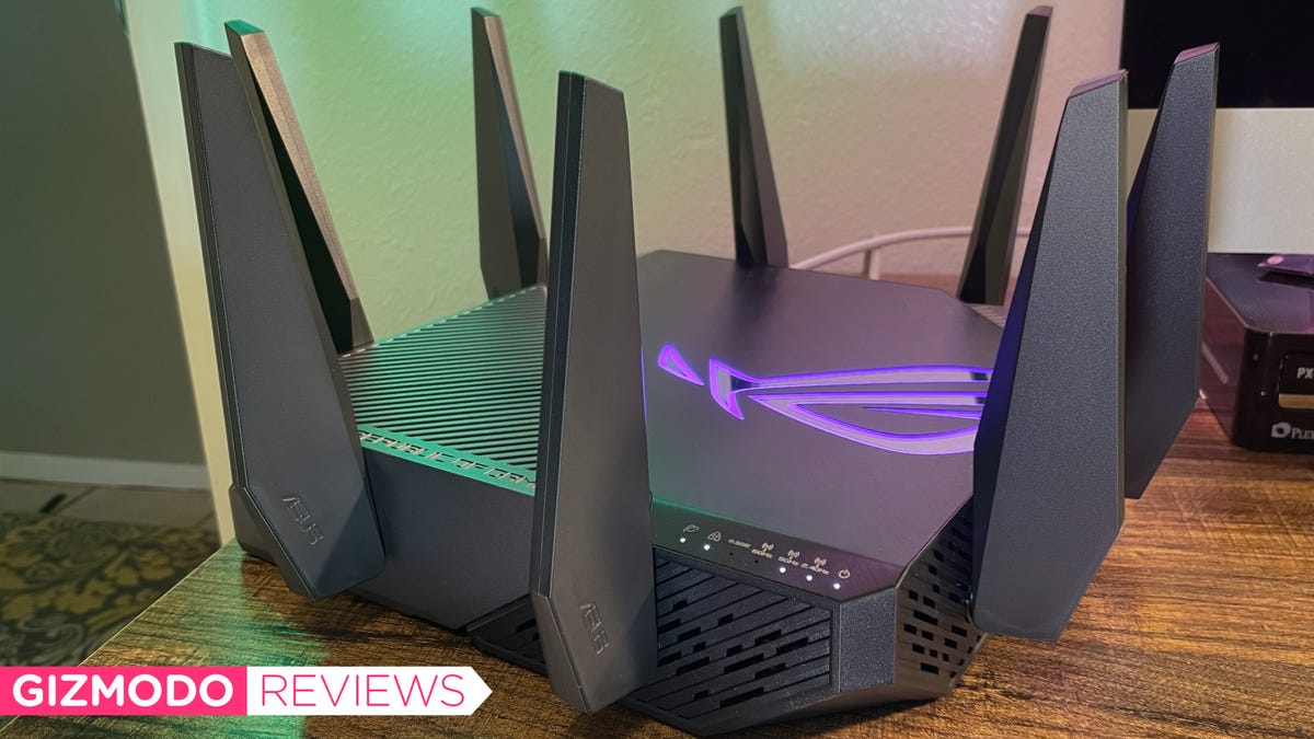 Asus' First Wi-Fi 6E Router Is a Beast for Gaming