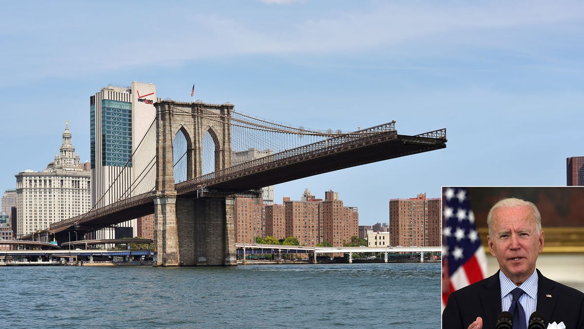 Biden Offers Infrastructure Concession By Partially Demolishing Brooklyn Bridge