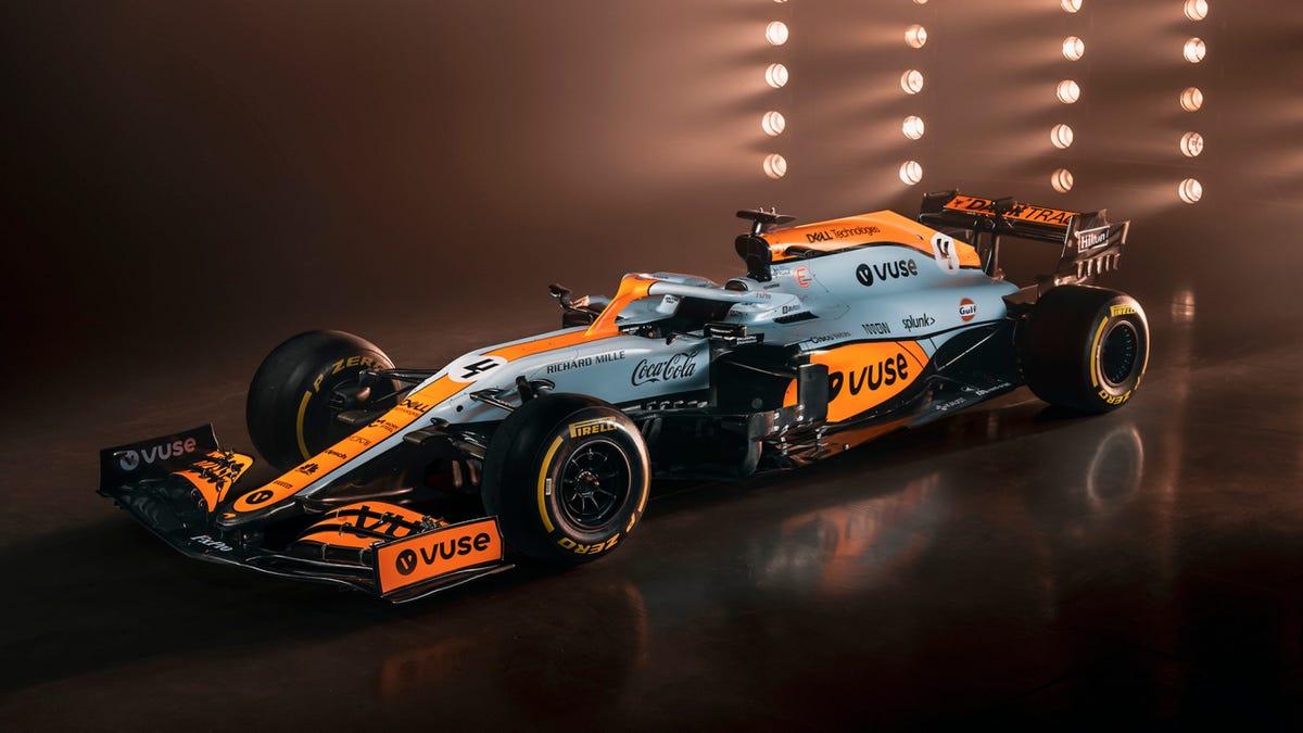 McLaren F1 Team Set To Run One-Off Gulf Livery For Monaco Grand Prix