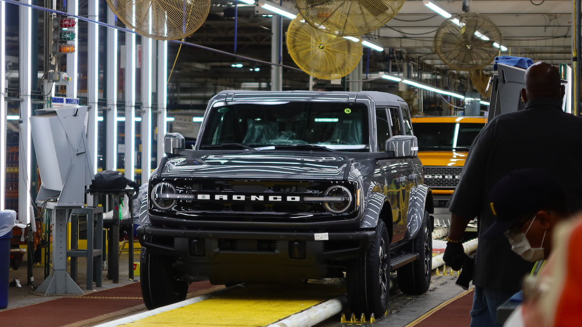 Here's What I Saw At The 2021 Ford Bronco Assembly Plant