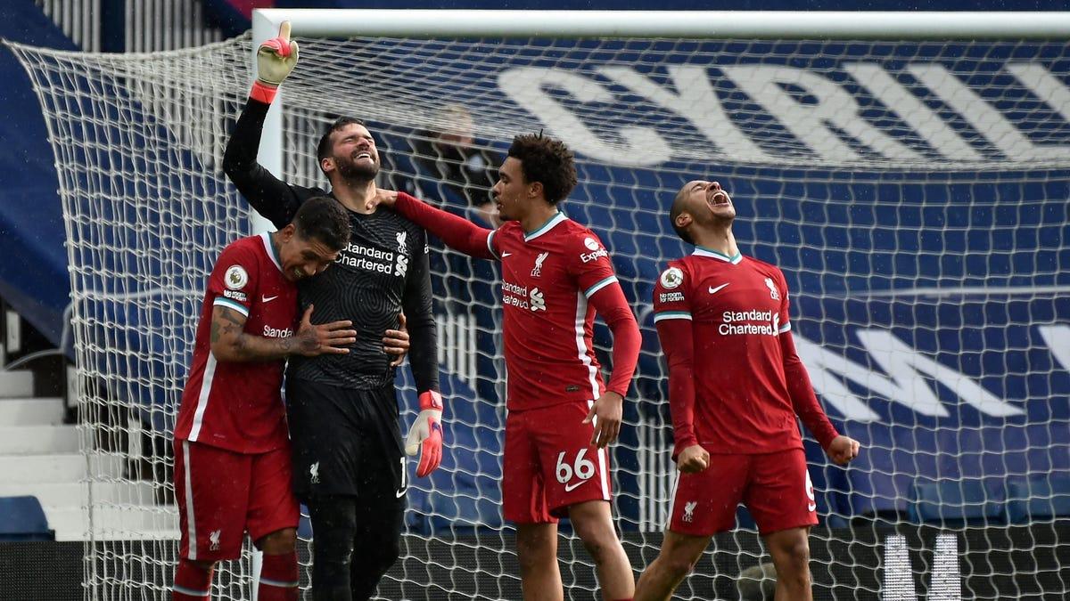 Alisson goal saves Liverpool's season - yes, he's the goalkeeper