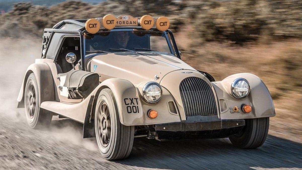 Der Morgan CX-T macht den britischen Roadster zum Off-Road-Fahrzeug