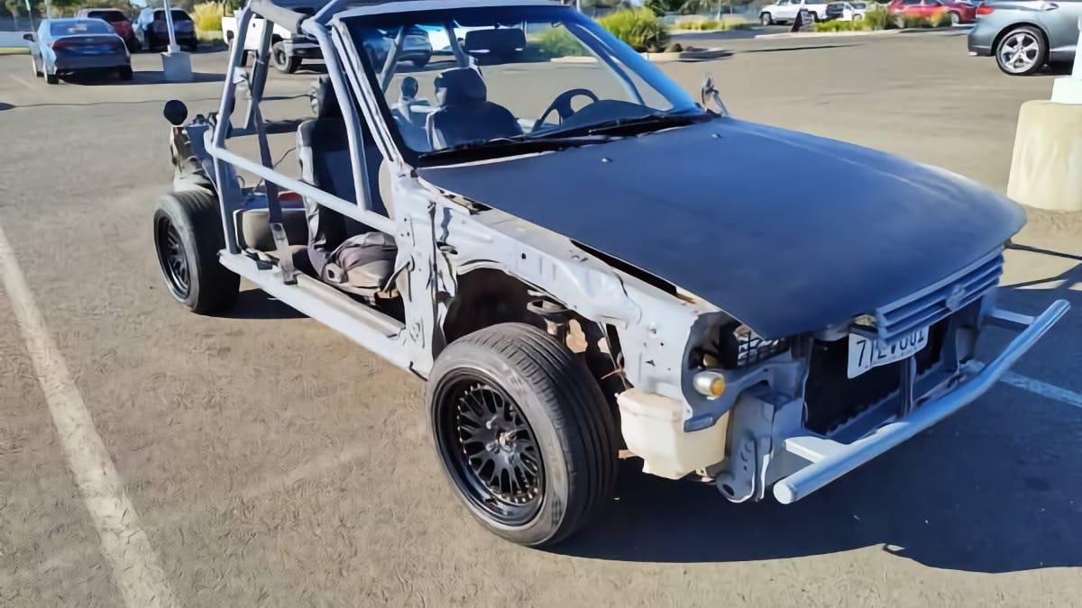 """Ist dieser 92er Nissan Sentra """"Dune Buggy"""" für 1.800 Dollar das richtige Auto für Sie?"""