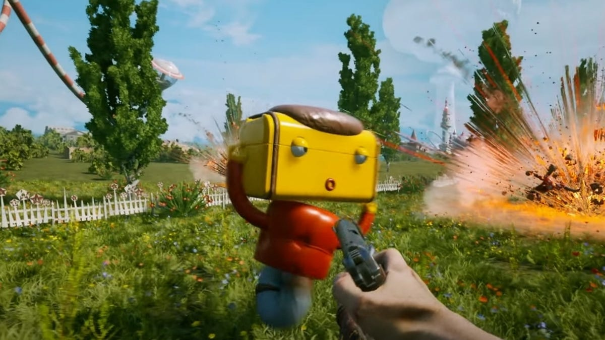 The Russian Version Of Fallout, Atomic Heart, Looks Absolutely Batshit