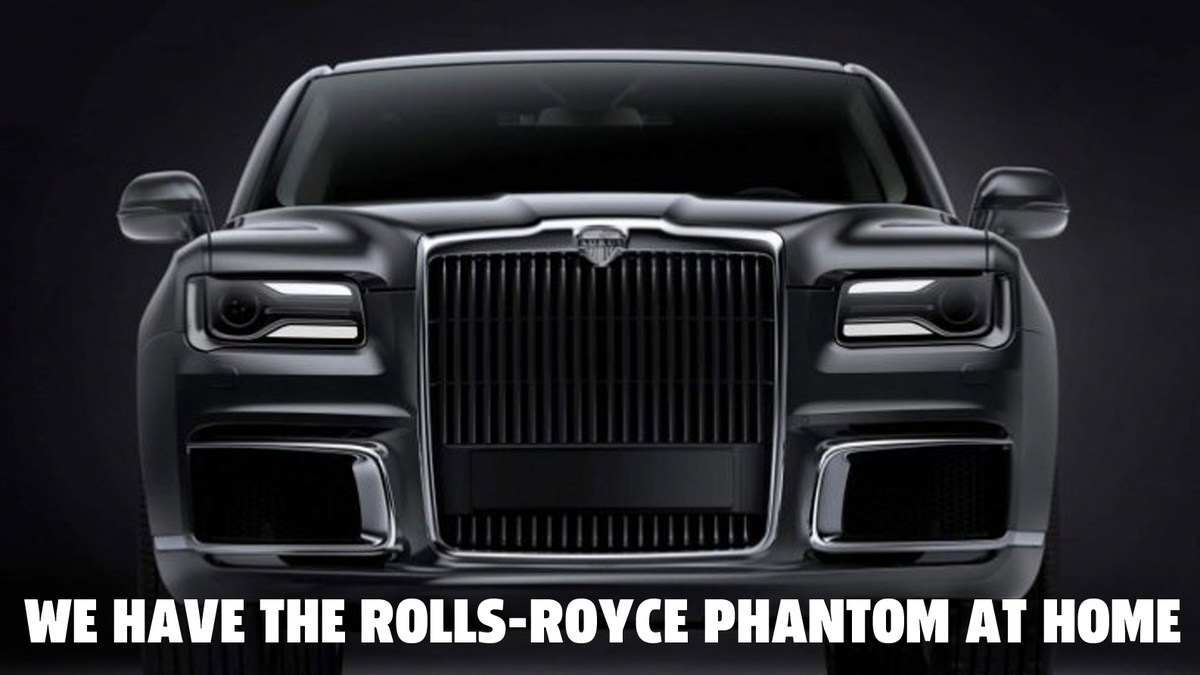 Production Starts On Vladimir Putin-Endorsed Car, Russia's Store-Brand Rolls-Royce