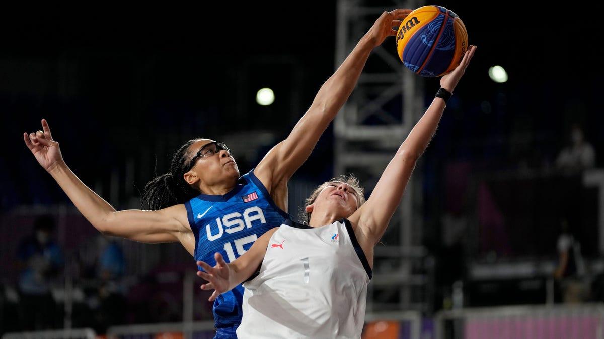 Team USA women debunk 3x3 basketball 'adjustment period' myth