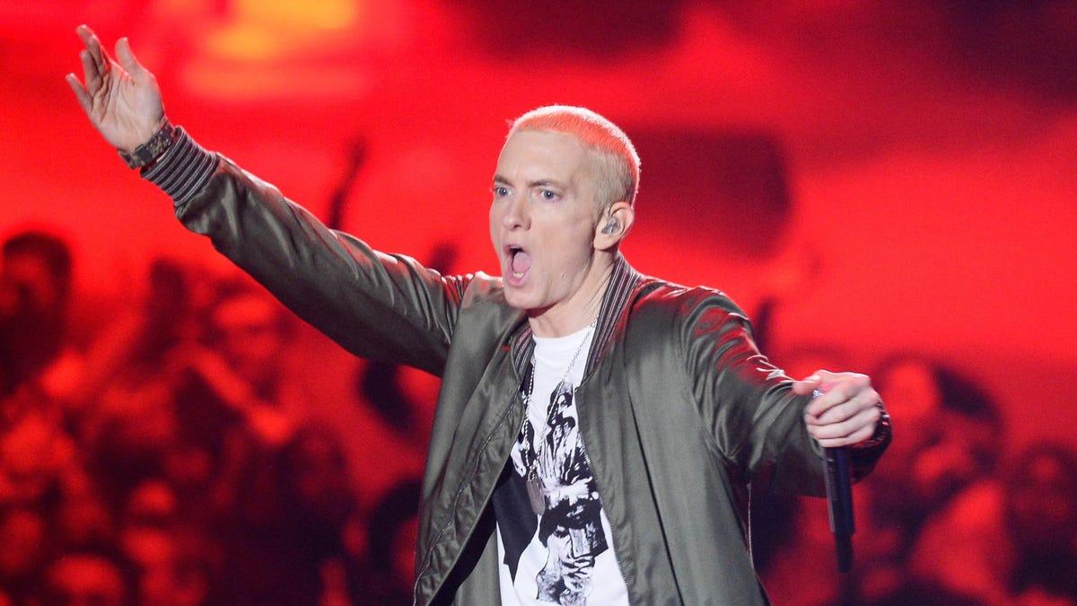 """Meme-food entrepreneur Eminem launches """"Mom's Spaghetti"""" restaurant"""