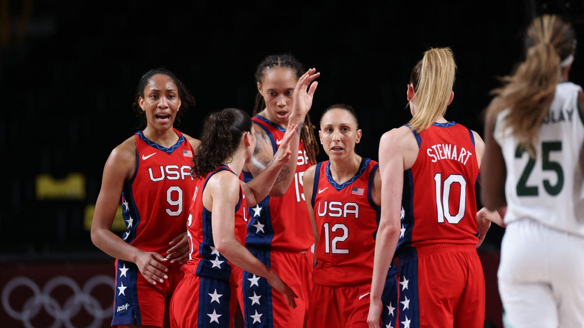 Czech republic men's basketball game won't be broadcast live on cable television. Team USA women's basketball team beats Nigeria for 50th ...