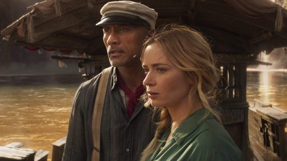 The Rock and Emily Blunt can't steer Jungle Cruise into bigger thrills