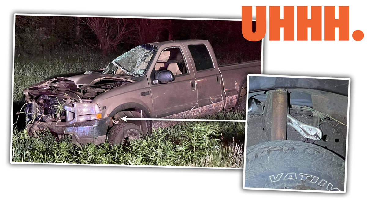 Roll-Over Wreck Is A Good Reminder That Vice Grips Aren't Safety Equipment