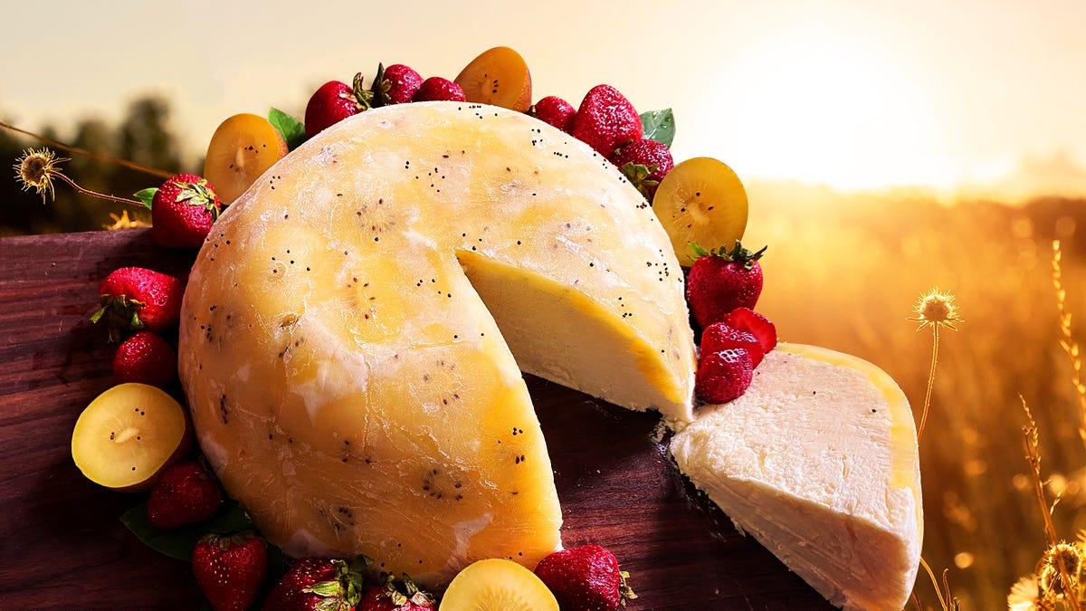 Recipe: Golden Kiwi Bavarian Bombe, an easy frozen phenomenon