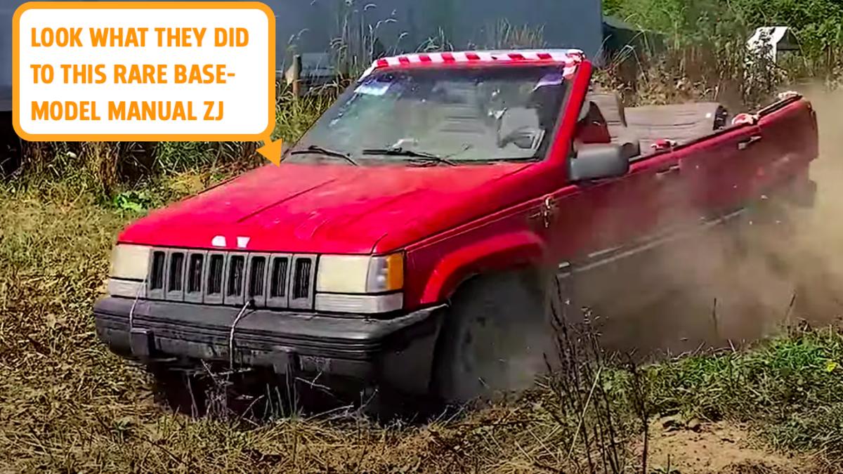 YouTuber zerstören hyper-seltenen 'Heiligen Gral' Jeep Grand Cherokee für Klicks€