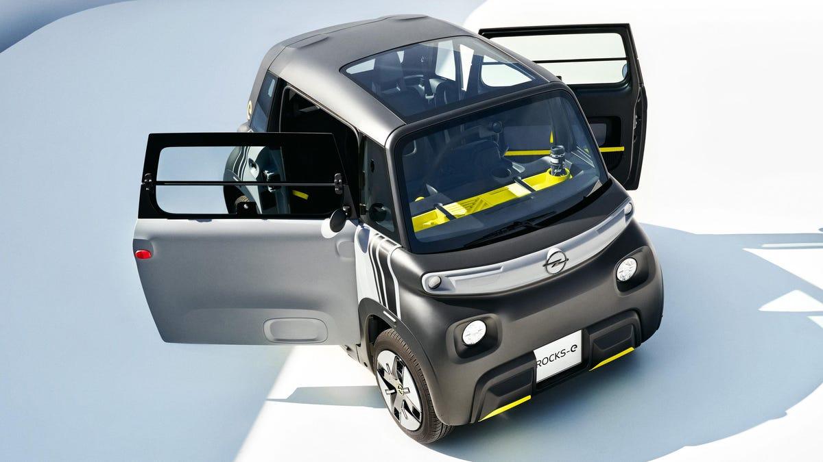 Der Opel Rocks-e rockt in der Tat