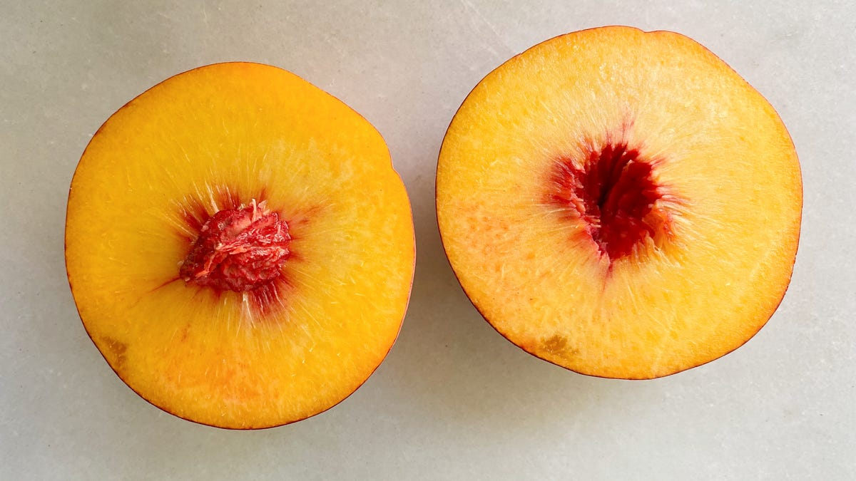 You've Probably Been Pitting Peaches Wrong This Whole Time