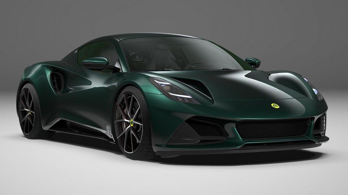 Das letzte ICE-Auto von Lotus hat jetzt einen Preis