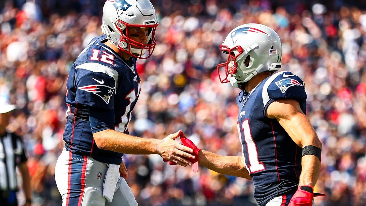 Tom Brady says Julian Edelman didn't retire, 'He's just scared to tell Bill he wants to come to Tampa'