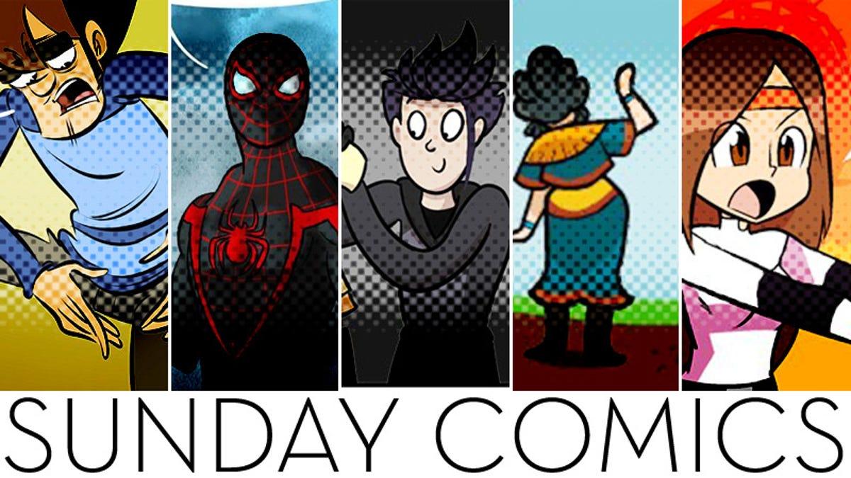 Sunday Comics: Just Watch!