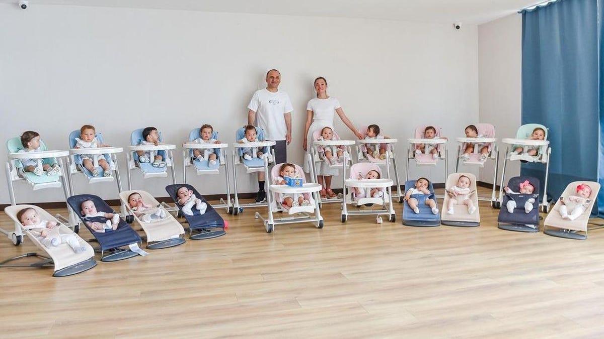 Una pareja compra 20 niños por gestación subrogada y fantasea con llegar hasta los 100